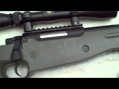 AGM/JG L96 Airsoft Sniper Rifle Review (HD)