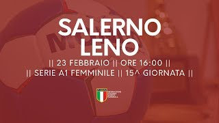 Serie A1F [15^]: Salerno - Leno 32-16