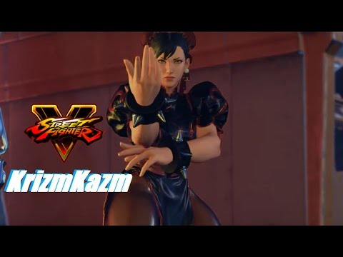 Street Fighter 5 mods KrizmKazm Chun li (C1) #1