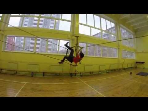 Видео с тренировки Спортивный туризм