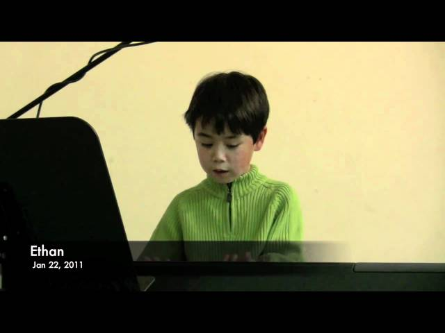 Ethan's Winter Music Recital 2011