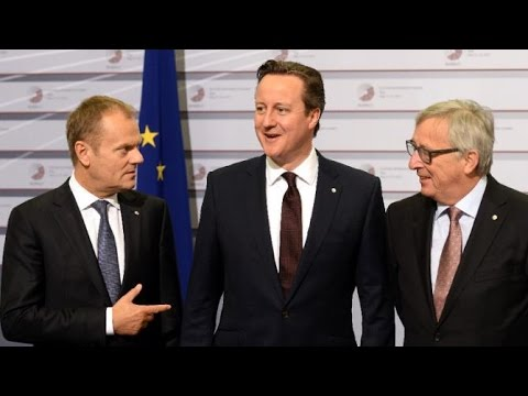 PM David Meets EU President For Talks On UK's Future In Europe