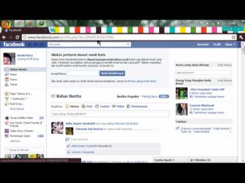 cara buka facebook