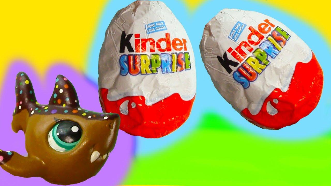 Lps Kinder Surprise Egg Chocolate Mystery Blind Bag