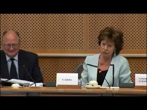 "Neelie Kroes: ""I will fight with my last breath"""