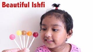 Funny Baby Ishfi Loves Lollipop | Beautiful Ishfi