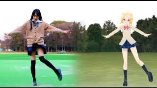 """""""Sadistic Love"""" dance with VOCALOID [のらくら] [鏡音リン] [サディスティック・ラブ] [MMD 踊ってみた] (Girl's MoCap)"""