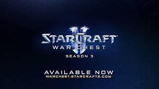 StarCraft II War Chest Season 3 Now Available