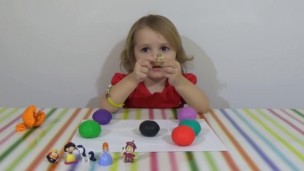 Как сделать из пластилина воздушный шар