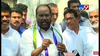 TDP MP Ravindra Babu joins YSRCP LIVE || Lotus Pond