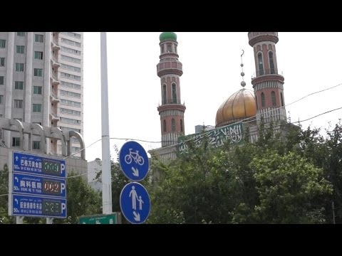 What did the Chinese ever do for us? - a drive through the streets of central Urumqi