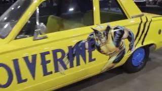 MomoCon 2016 Fandom Car Show Replica Vehicles! Star Wars, Ghostbusters, Time Machine ect.