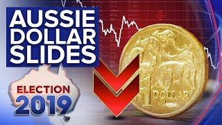 Rate cut talk sees Australian dollar sink below 70 U.S. cents | Nine News Australia