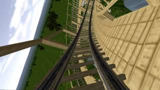Sky Surfer - No Limits Compact Wooden Roller Coaster