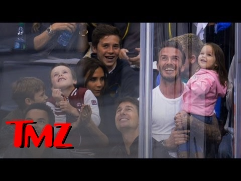 Tom Cruise All Frowns At A Kings Game