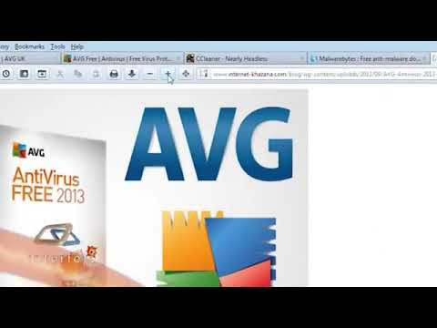Interfejs TV - AVG Anti-Virus Free 2013