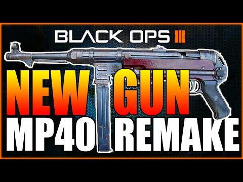 """THE CRINGIEST DLC PAY TO WIN WEAPON EVER! MP40 REMAKE """"HG40 SMG"""" (BO3 GAMEPLAY) #1"""
