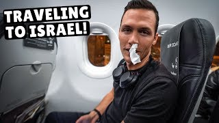 Flying to our 96th country of ISRAEL! (our crazy travel day)