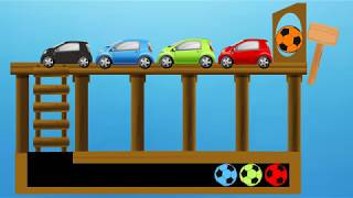Color Car | Nursery Rhymes Video for Kid Child