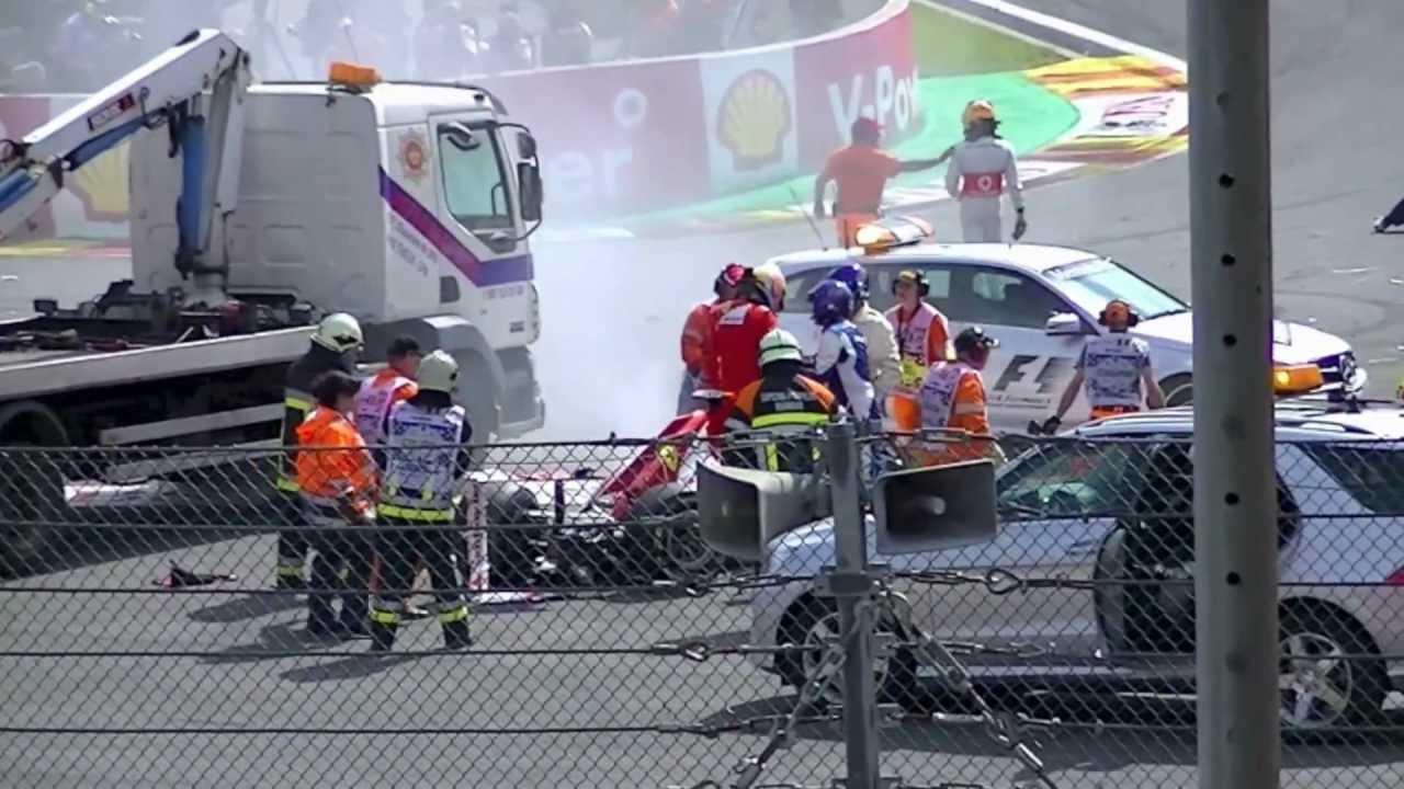 Formula Crash Formula 1 Crash at Belgium