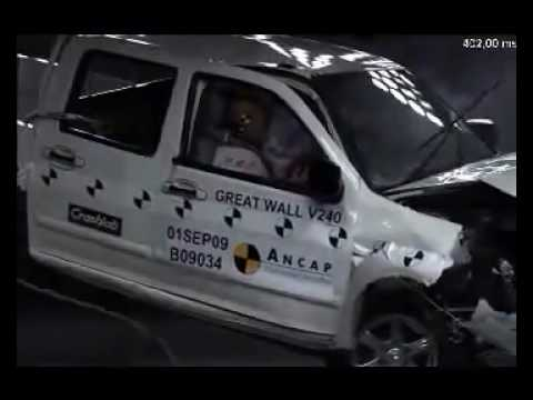 Great Wall Steed ANCAP crash test