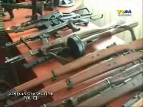 Policja ujęła szajkę handlarzy bronią. Zdjęcia operacyjne!