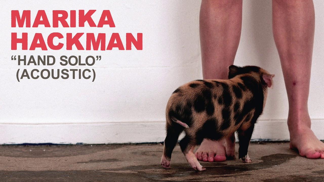 "Marika Hackman - ""hand solo""(acoustic)の試聴音源を公開 新譜「Any Human Friend」2019年8月9日発売 thm Music info Clip"