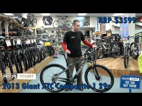 2013 Giant XTC Composite 1 29er Mountain Bike Review