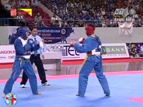 The 1st WVVF World Vovinam Championship 2009 -- Fighting 57-60 kg -- Thailand vs Vietnam