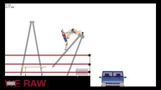 OMG Moments Top 10 WWE Parodi Happy Wheels