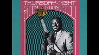 Watch Albert King Crosscut Saw live Sf video
