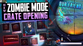 ZOMBIE CRATE OPENING & USING ZOMBIE SLAVE TO WIN! PUBG Mobile