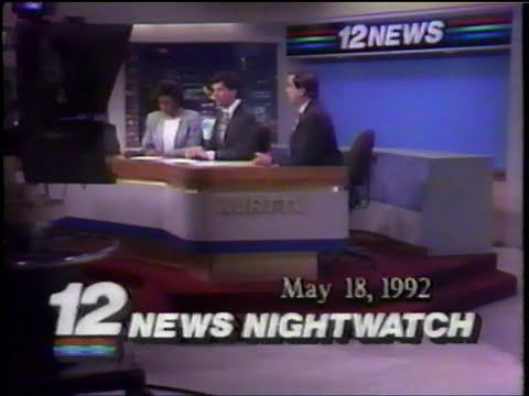 WJRT-TV 12 NEWS NIGHTWATCH - 1992_05_18