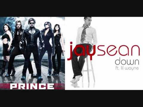 Tere Liye (from The Film - Prince) Vs Down (jay Sean) Remix! video