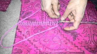 Apex patchwork rugs hand stitching process