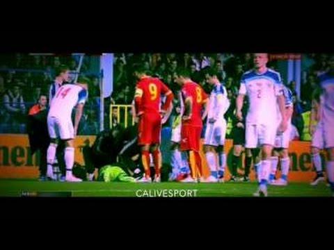 Akinfeev Hit ~ Russia vs Montenegro 2015