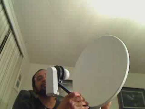 Demonstration Video: SATELLITE DISH HIDDEN CAMERA W/BUILT-IN DVR (Buy/Rent/Layaway)