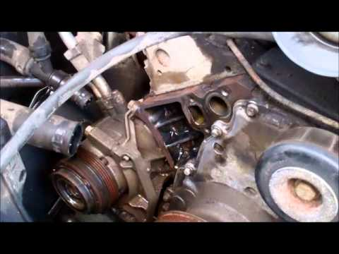 Water Pump Replacement 2003 z71 Chevy Tahoe YouTube