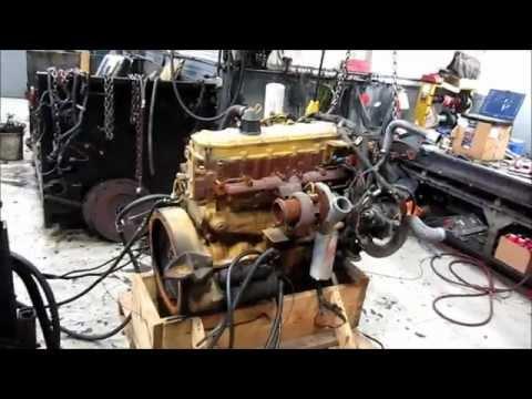 2000 Caterpillar 3126 Diesel Engine Running