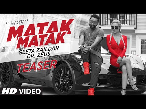Matak Matak Song Teaser | Geeta Zaildar Feat. Dr. Zeus | Releasing Tomorrow