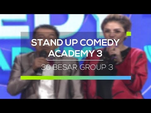 Highlight Stand Up Comedy Academy 3 - 35 Besar Group 3