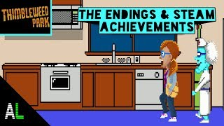 Thimbleweed park part #11 The other endings and steam achievements