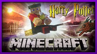 MineCraft Quidditch Harry Potter Mod! Epic Game!