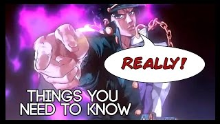 5 Things You (Probably) Need To Know About Jojo's Bizarre Adventure!