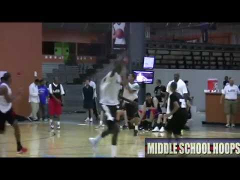 Thon Maker Skills Video - MiddleSchoolHoops.com - 2011 John Lucas Midwest Invitational