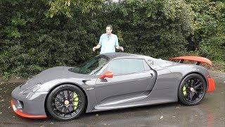Вот почему Porsche 918 Spyder стоит $1,7 миллиона