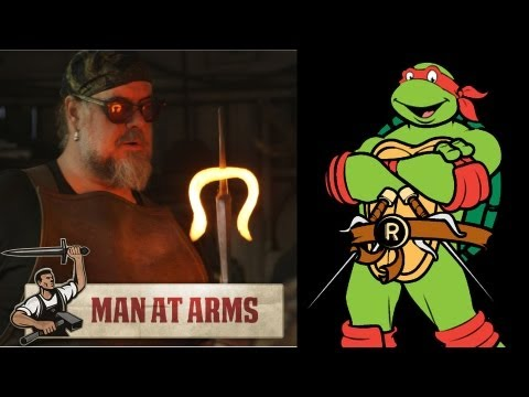 Raphael s Sais (Teenage Mutant Ninja Turtles) - MAN AT ARMS