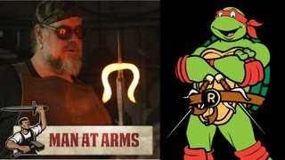 Raphael's Sais (Teenage Mutant Ninja Turtles) - MAN AT ARMS