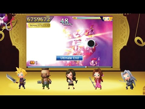 Theatrhythm Final Fantasy Curtain Call - FFVII Musical Legacy Trailer klip izle