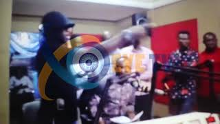 HOT VIDEO: Rev. Owusu Bempah Vandalizes Laptop,Microphone At Hot 93.9FM